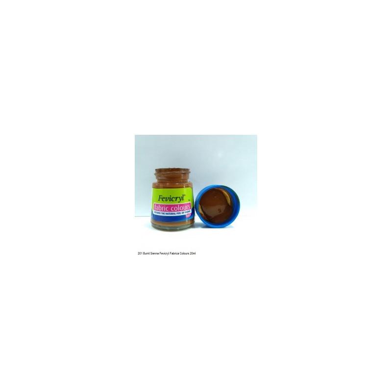 201 Fevicryl Fabric Colour burnt sieanna