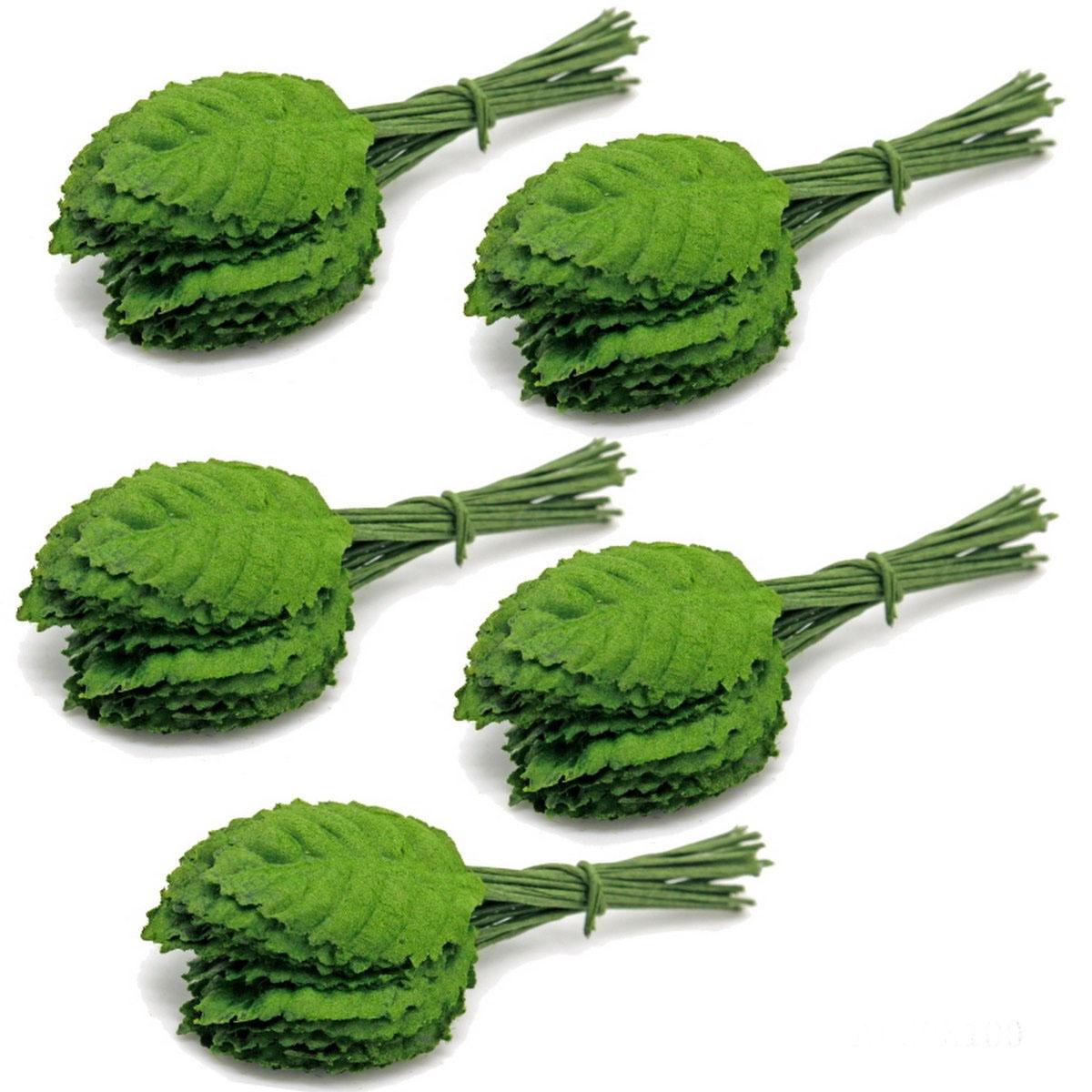 Artificial Leaf Green 2 X2.5 CM ALG9X100