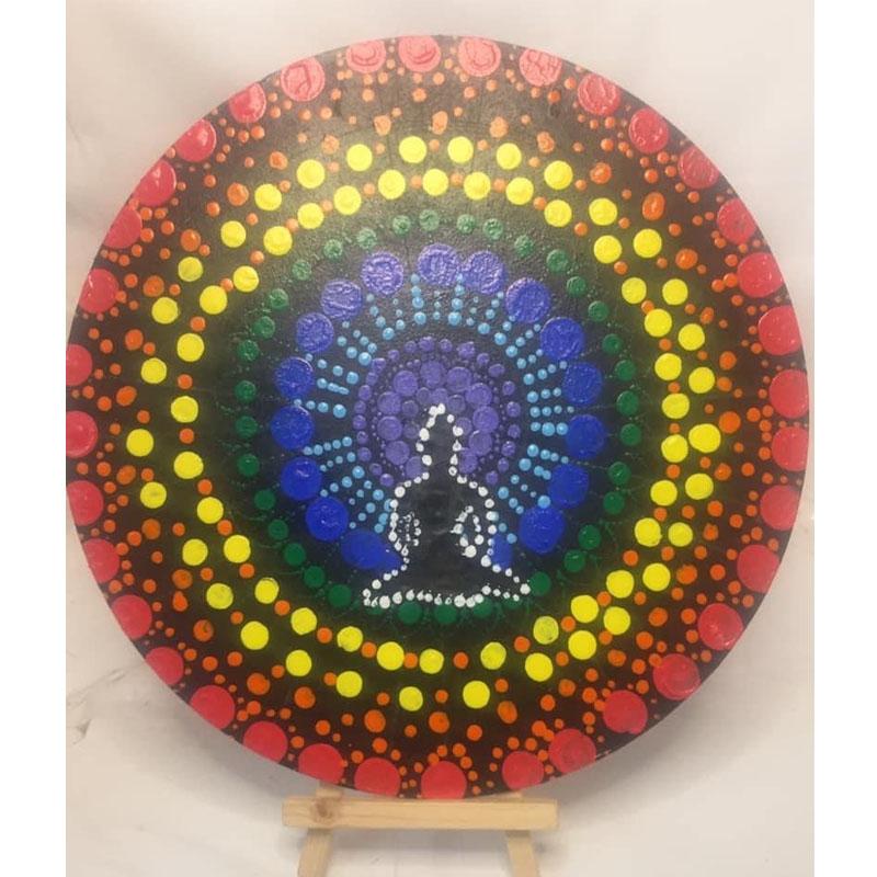 Budha Dot Mandala by Mansee Jain