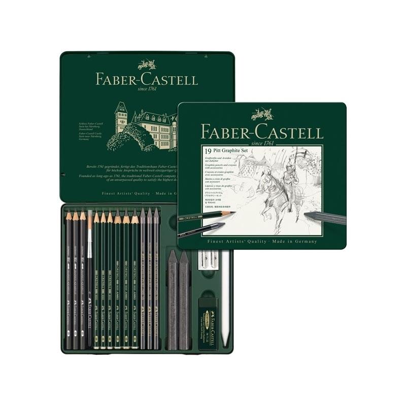 Faber Castell Pitt Graphite Set of 19