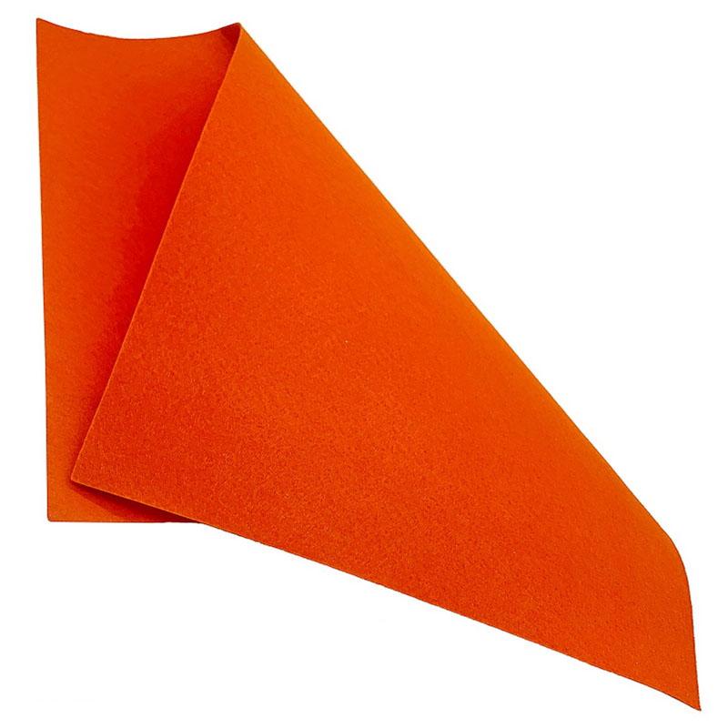 A3 Nonwoven Felt Sheet Dark Orange 70 A3DOE70