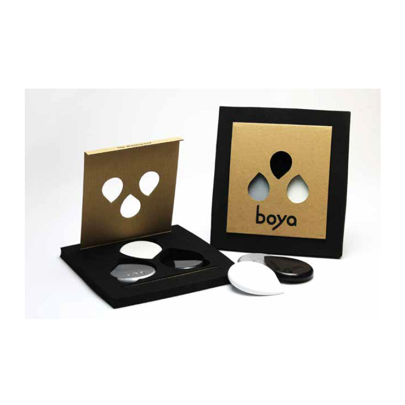 BOYA`S PACKAGING AND PRICING SIXSET, presenting MONOCHROME SET