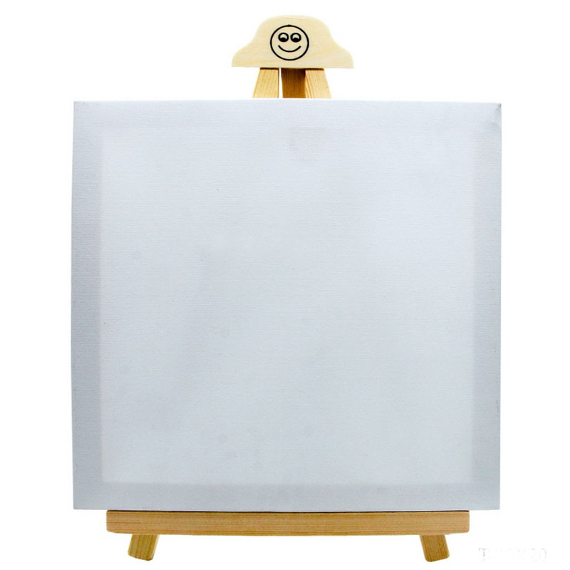 Canvasboard With Stand White Big T-20X20