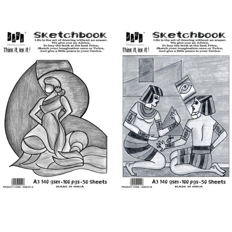 Artist Sketchbook A3 140 GSM ASB101