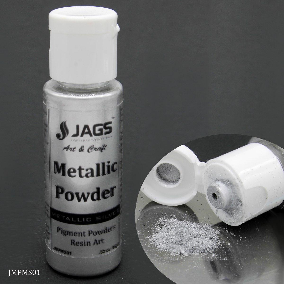 Jags Metallic Powder Metallic Silver 15Gms JMPMS01