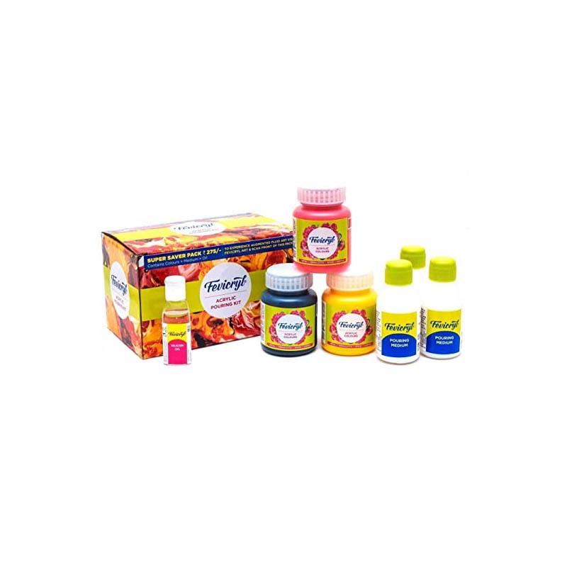 Fevicryl Acrylic Fluid Pouring Kit