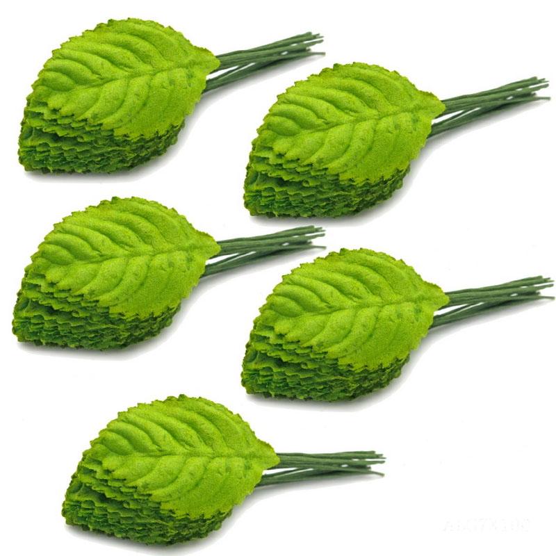 Artificial Leaf Green 3 X4 CM ALG7X100