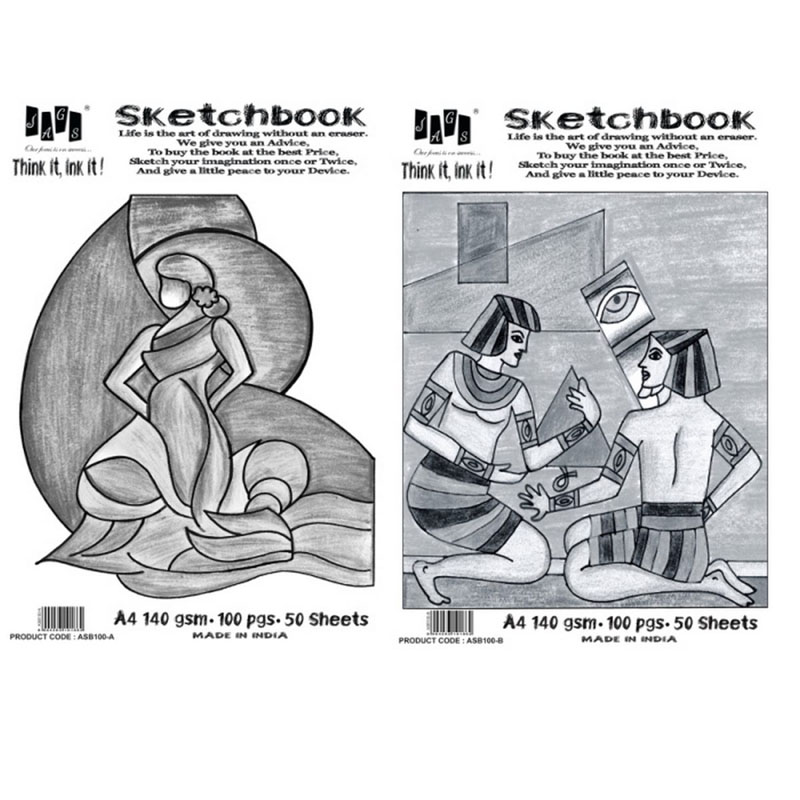 Artist Sketchbook A4 140 GSM ASB100