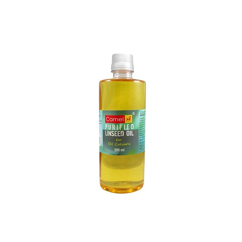 Camel Linseed Oil, Used in Oil Painting (500 ml)