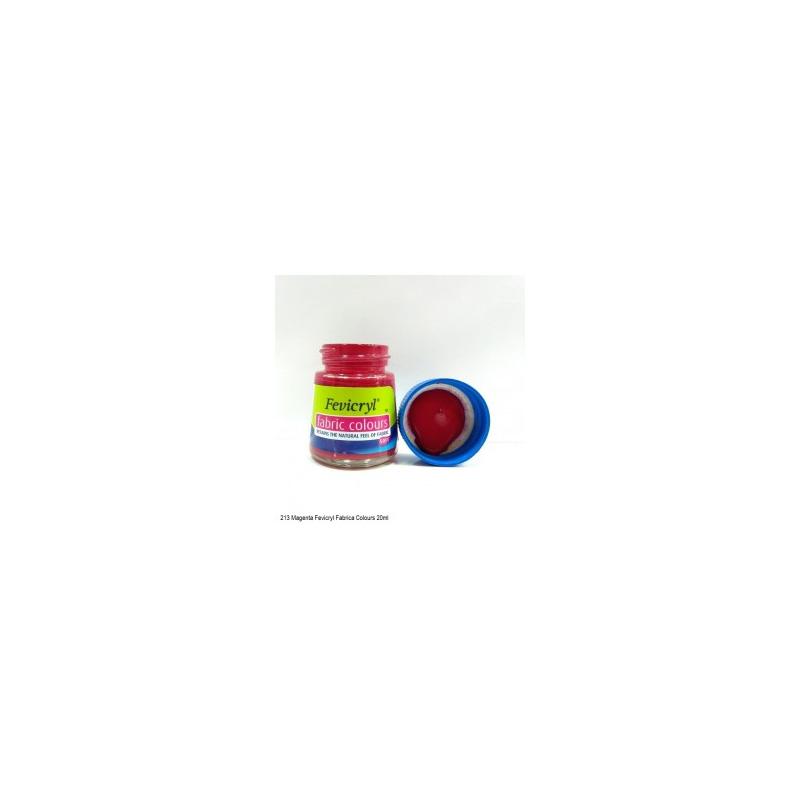 213 Fevicryl Fabric Colour magenta