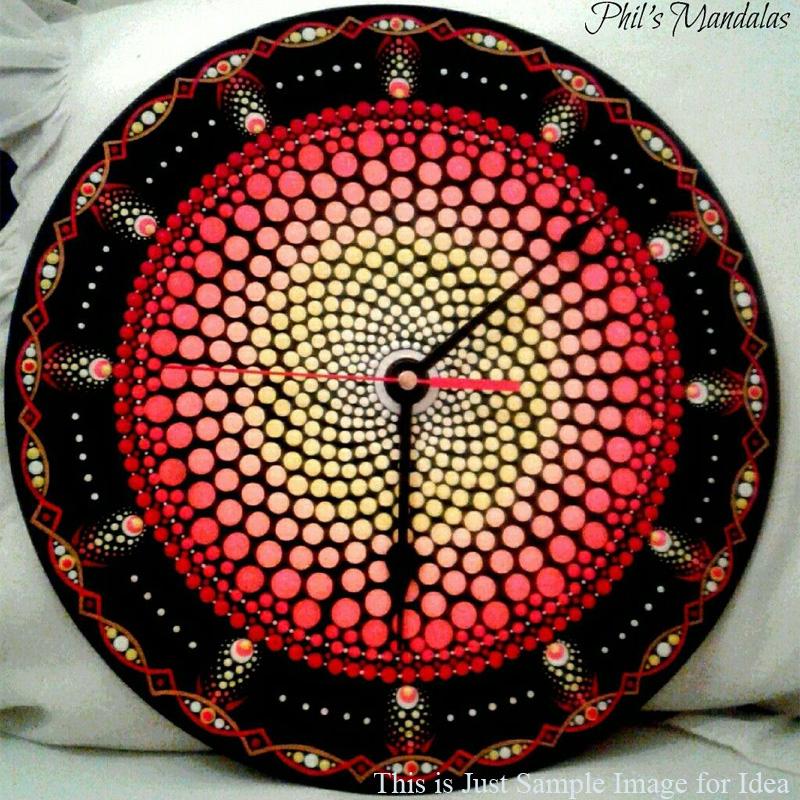 Mandala Clock Making Kit