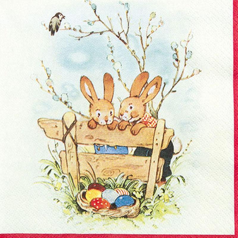 Tissue Paper 13*13inch Bunny Friends 211458