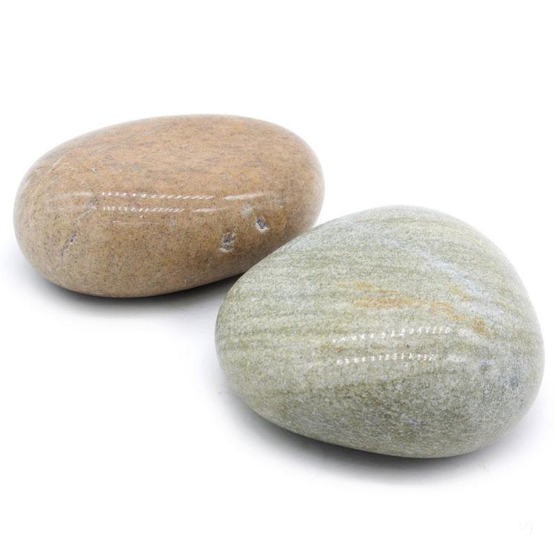 Jags Flat Polished Pebble Stones 2PCS JFPP00