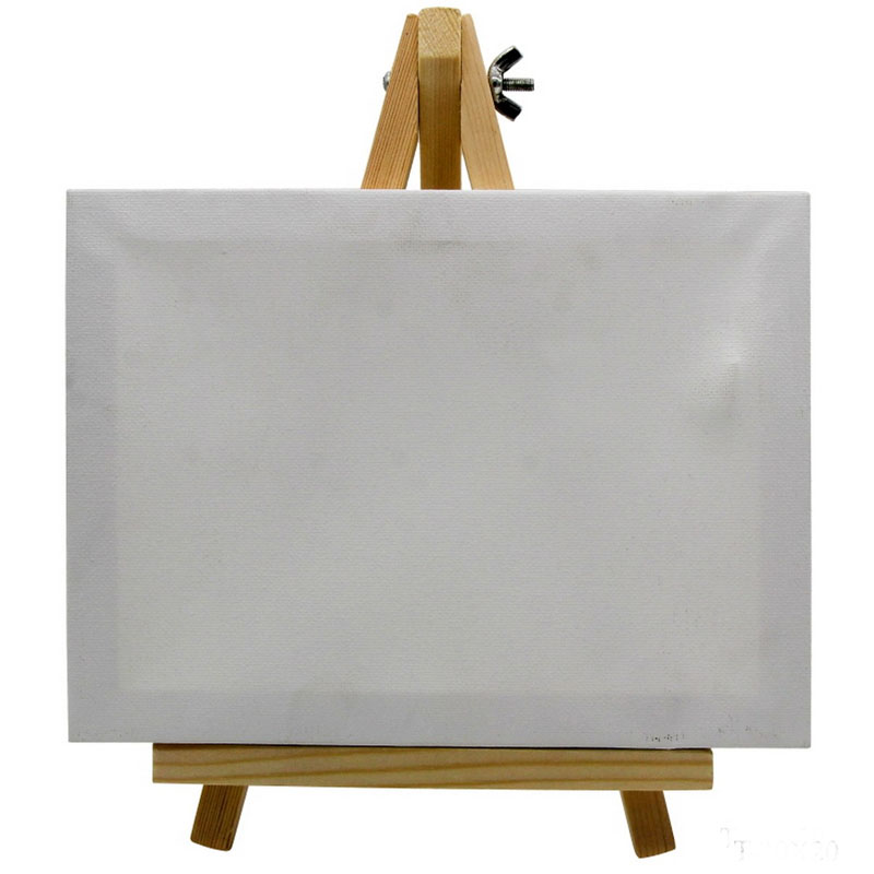 Canvasboard With Stand White Medium T-15X20