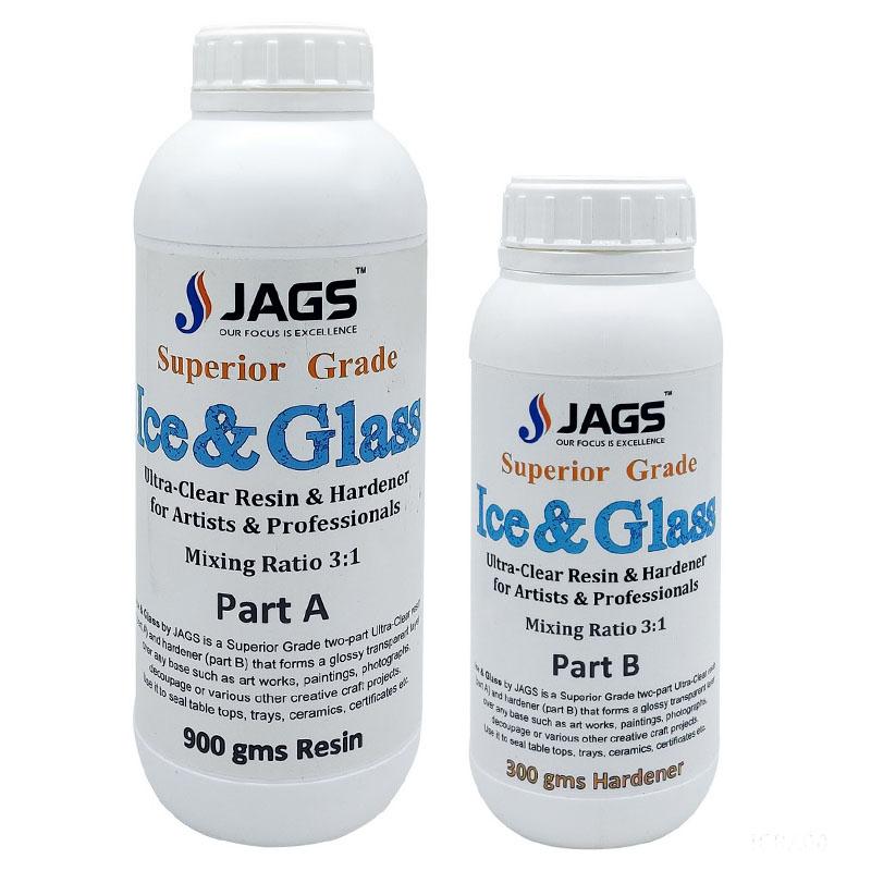 Ice & Glass Resin And Hardner Set 1200ML IGRA00
