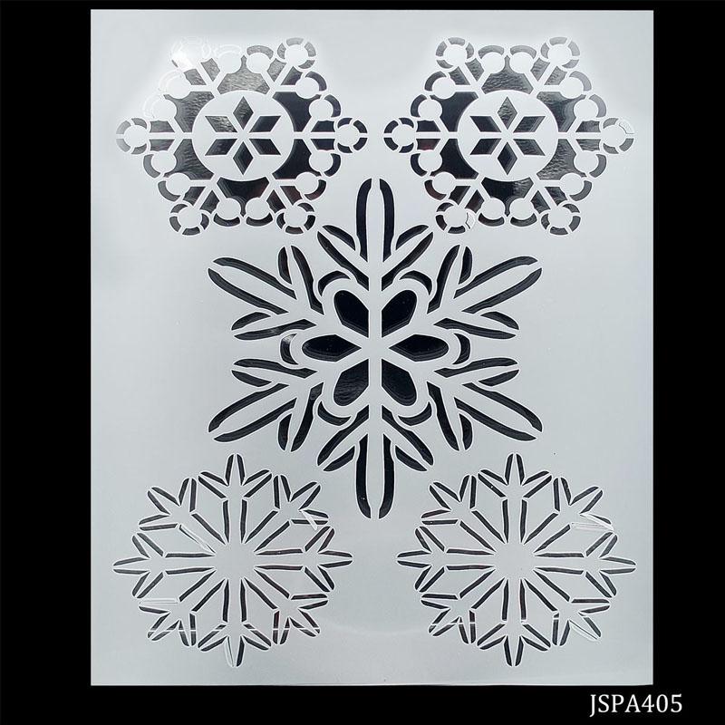 jags Stencil Plastic 5 Disegn A4 JSPA405