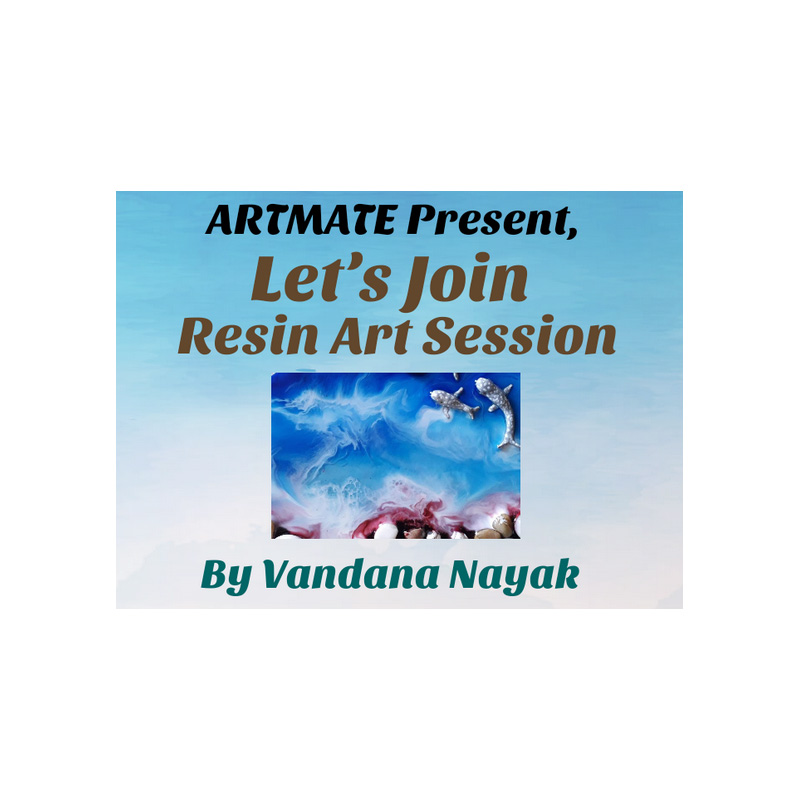 Resin Art Kit for Workshop of Vandana Nayak