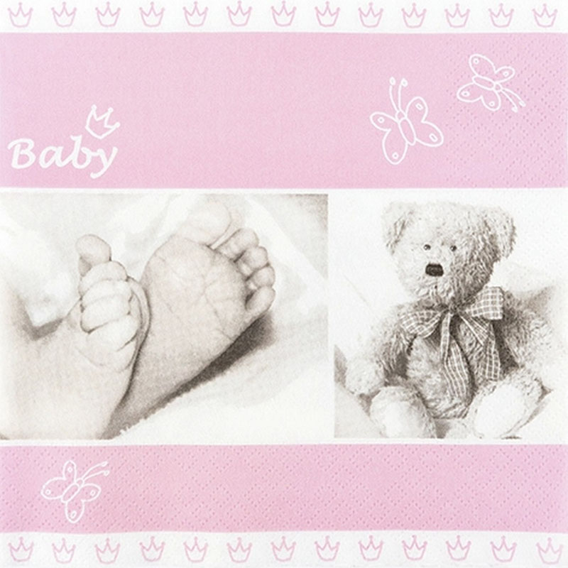 Tissue Paper 13*13inch Baby Rose 211857