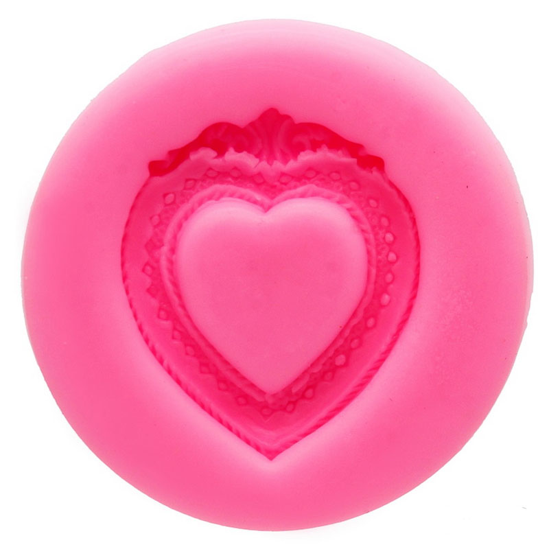 Silicone Mould 1 Design Heart JSF1162