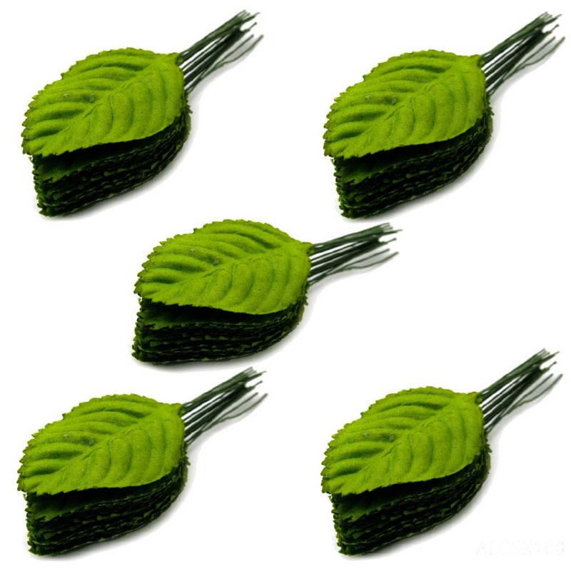 Artificial Leaf Green 3.5 X5CM ALG5X100