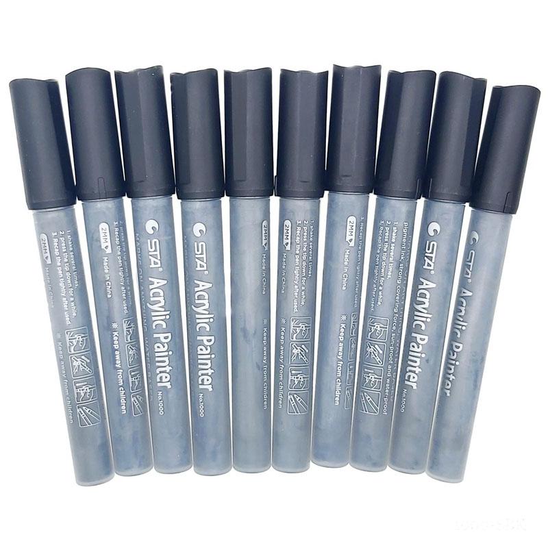 Acrylic Painter Water Based Marker Black 1000-SBK