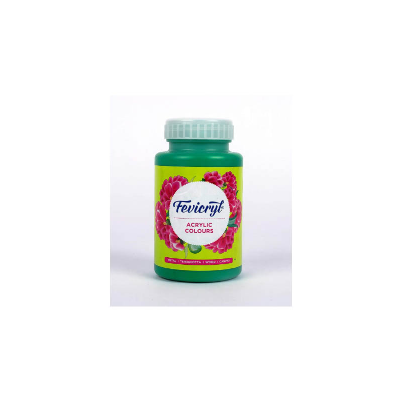 Fevicryl High-Quality Acrylic Painting Color (Light green, 500ml)