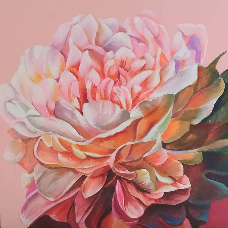 Flower of Happiness by Vijay Koul