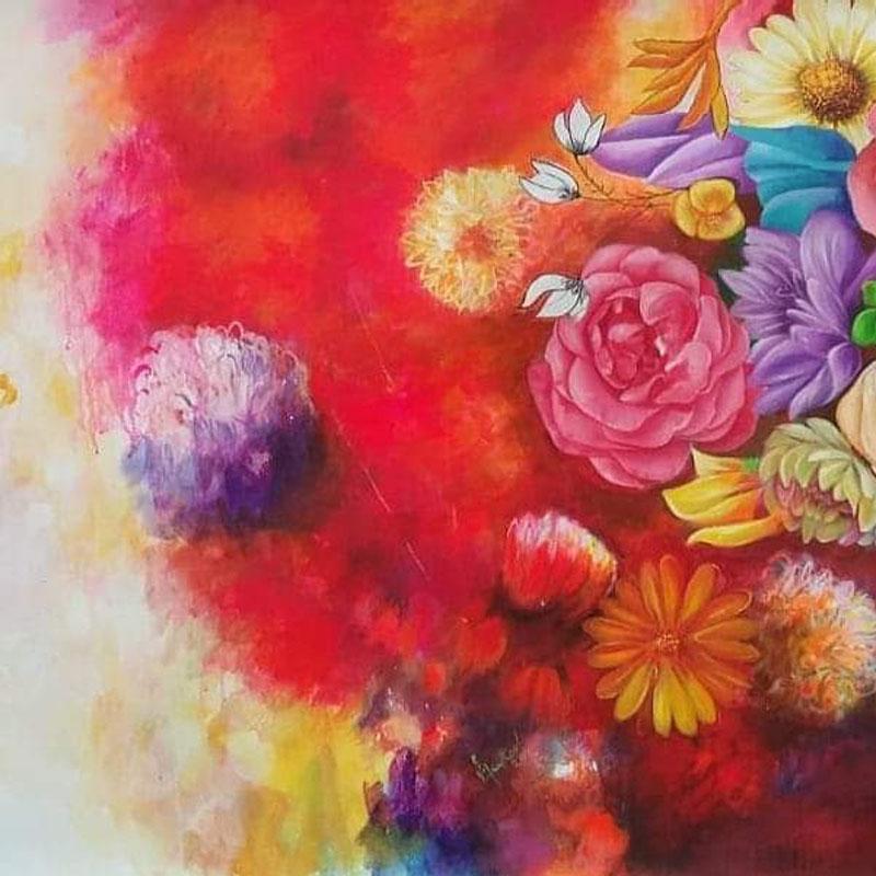 Flowers of Happiness 4 by Vijay Koul