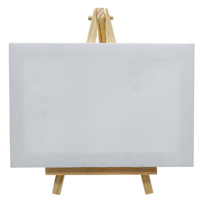 Canvasboard With Stand White Small T-12X18