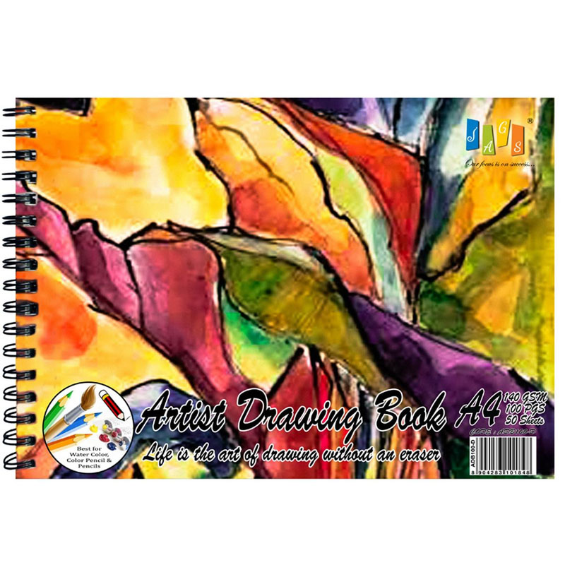 Artist Drawing Book 100 Pages 140 GSM A4-ADB100