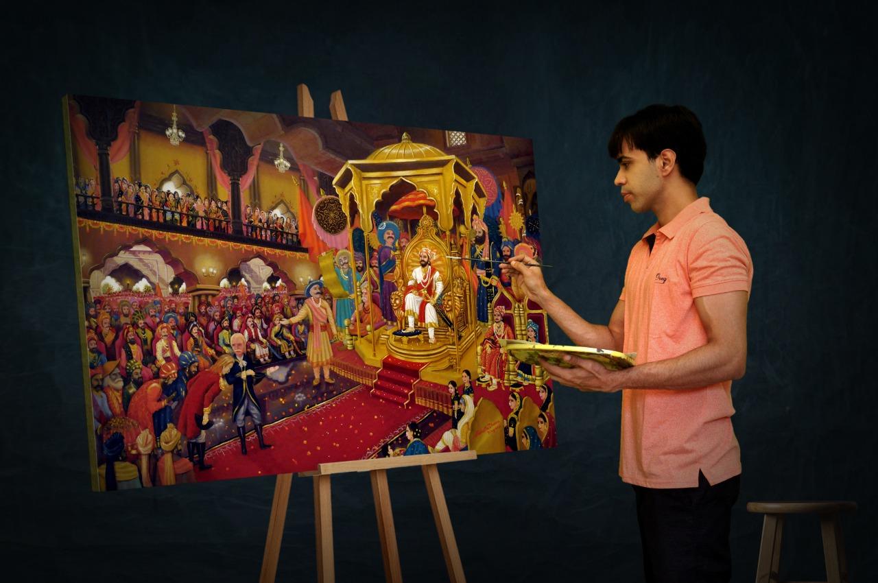 Artist Siddharth Dharane