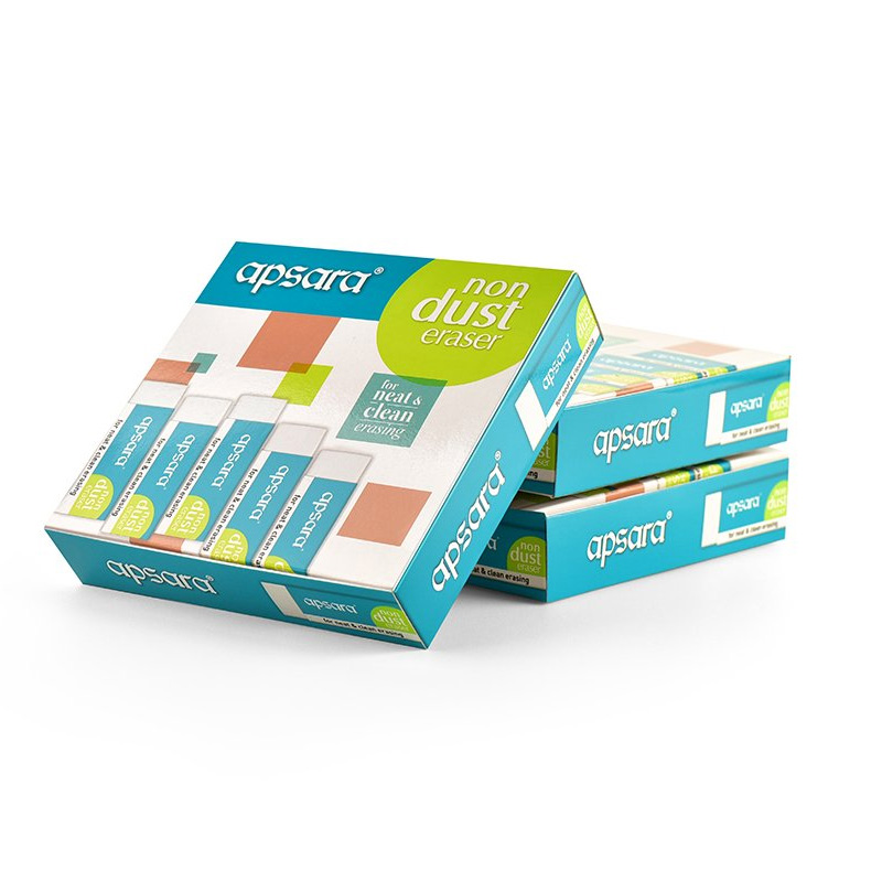 Apsara Non Dust Jumbo Erasers - Pack of 20