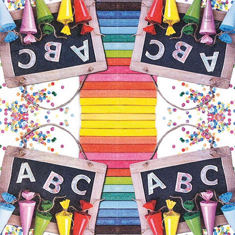 Tissue Paper 13*13inch ABC 123 211721