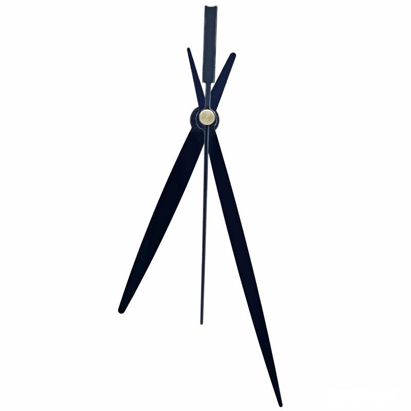 Clock Hands Set Medium Black 125B CH125BK