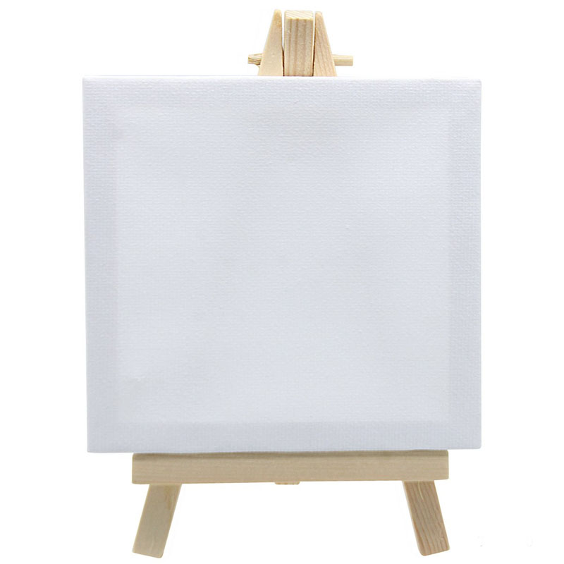 Canvasboard With Stand White Small T-10X10