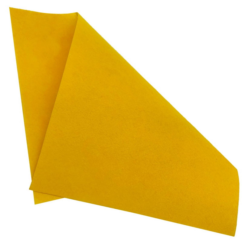 A3 Nonwoven Felt Sheet Yellow 79 A3YW79