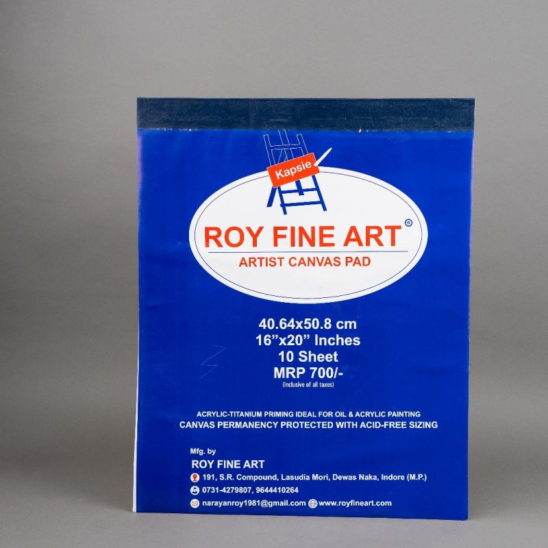 Roy Fine Art Canvas Pad 16by20 Inches