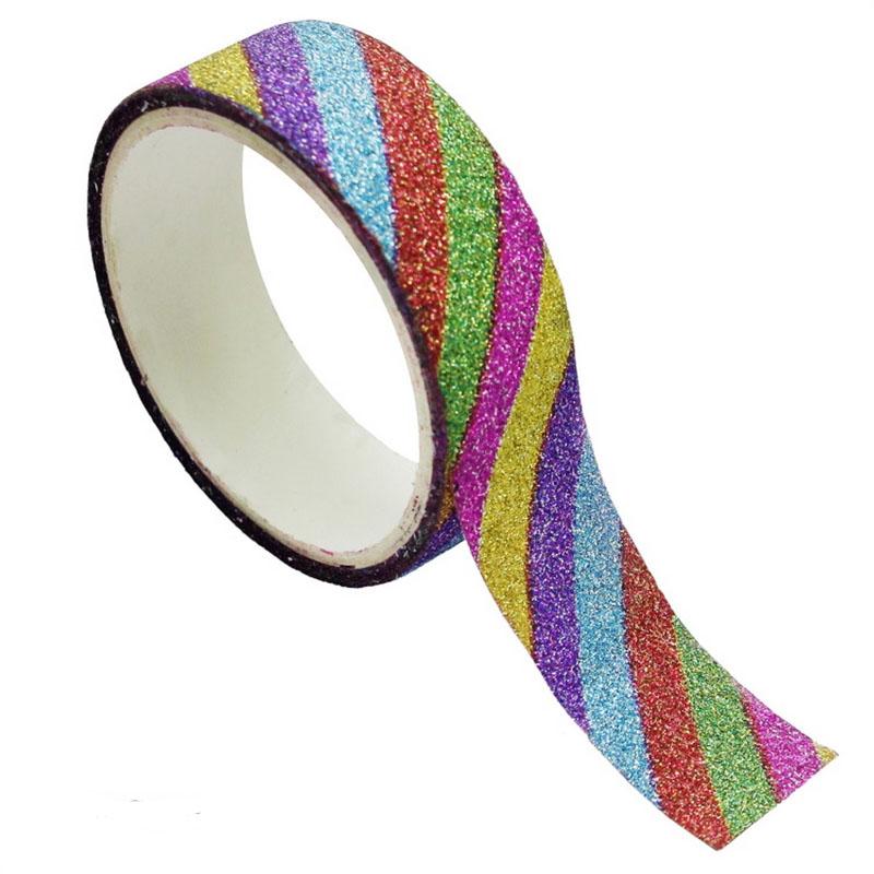 Craft Glitter Tape Small 10x5 50pcs Box 10PGT-B