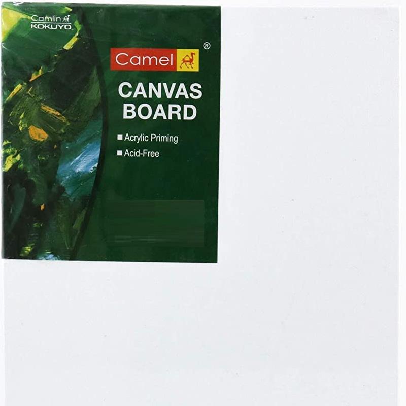 Camel Canvas Board - 30cm x 30cm