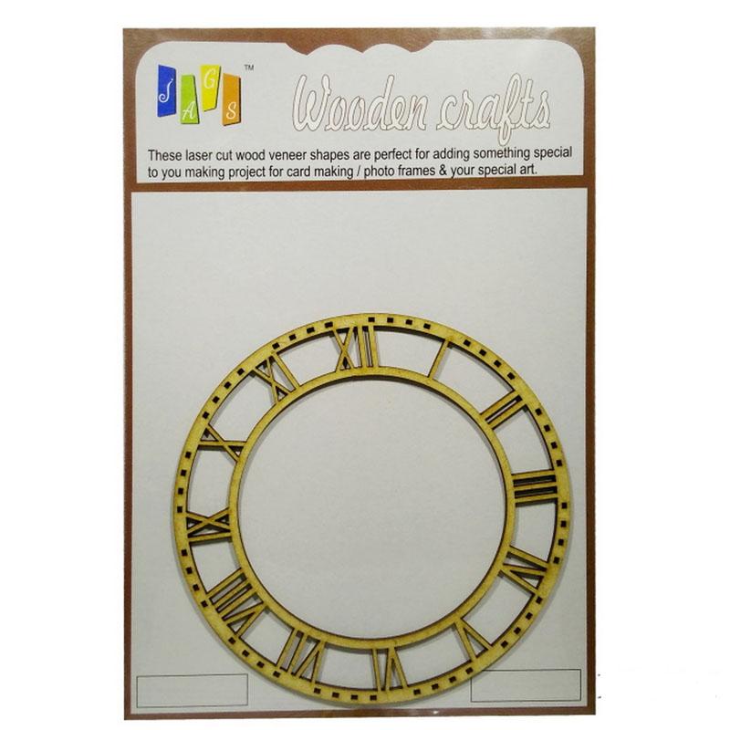 MDF Clock Roman 5inch MCR500