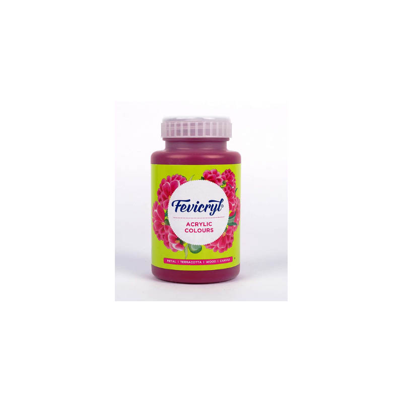 Fevicryl High-Quality Acrylic Painting Color (Maroon, 500ml)