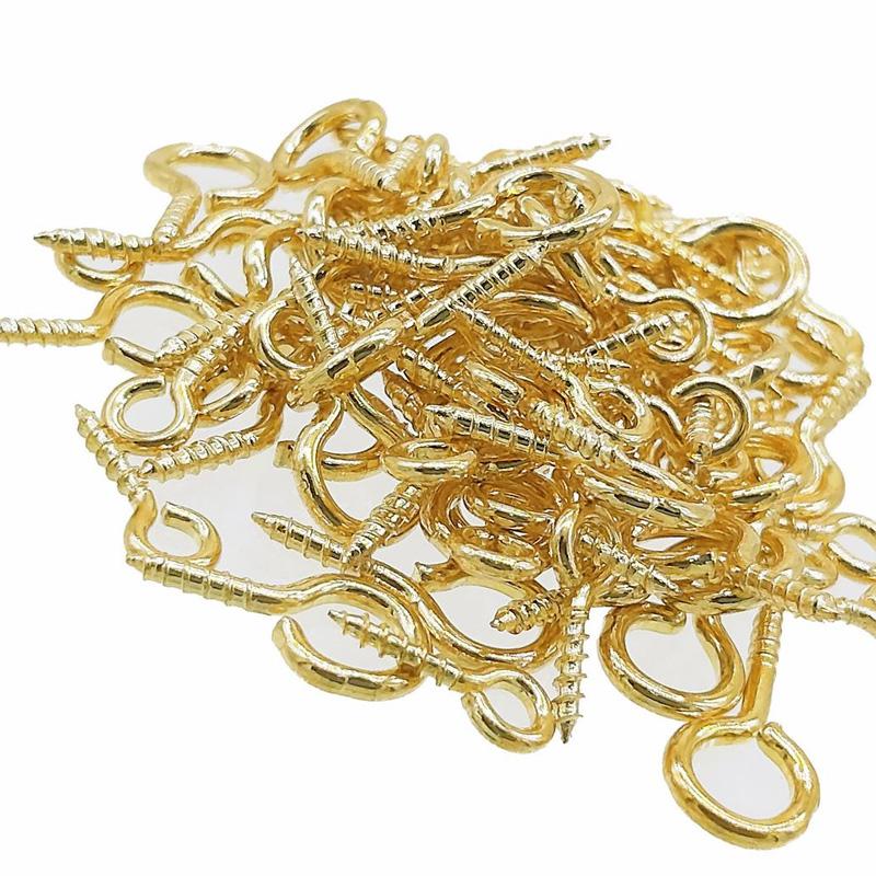 Jewellery Q-Hooks Gold 6PCS Set JQG000