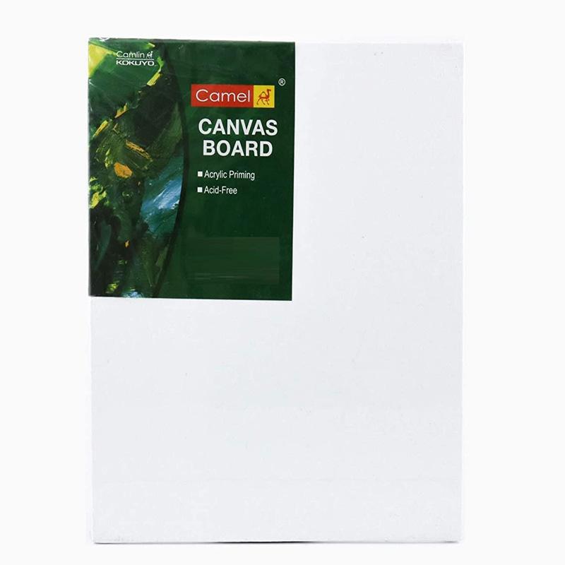 Camel Camlin Kokuyo Canvas Board - 20cm x 25cm