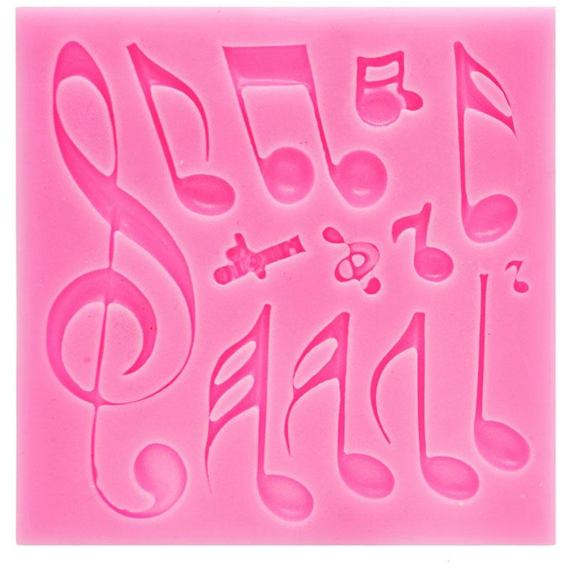 Silicone Mould 13 Hole Music Symbol JB-533-L