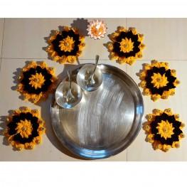 Crochet Jumbo Flowers by Aarya Bhase -1